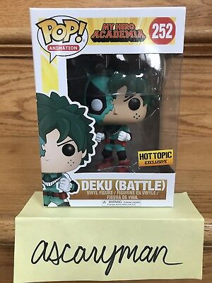 $13.95 • Buy BATTLE DEKU My Hero Academia Funko POP Hot Topic Exclusive