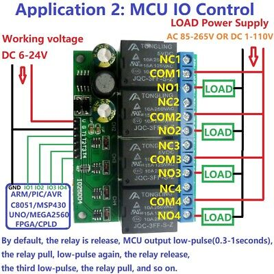 12 dc relay board