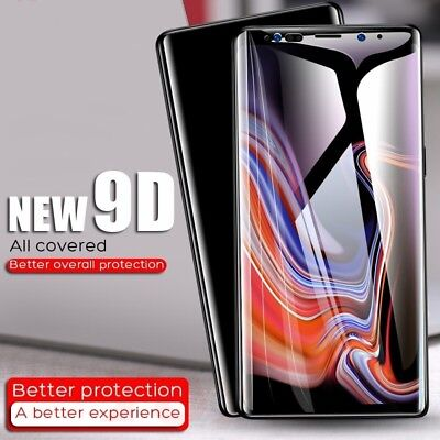 $ CDN2.64 • Buy 9D Screen Protector For Samsung Galaxy S8 S9 Plus Note 9 8 Tempered Glass 9H