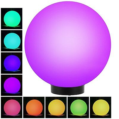 LED Garden Solar Light Ball COLOUR CHANGING Globe Sphere  Stake Walkway Garden • 11.84£