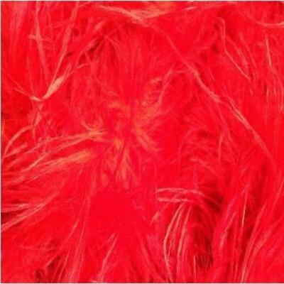 £14.56 • Buy Ostrich & Marabou Feather Boa - Red