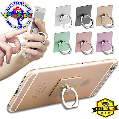 AU6.95 • Buy Classic Universal Iring Finger Phone Ring Holder Stand Grip Pop Mount Socket AU