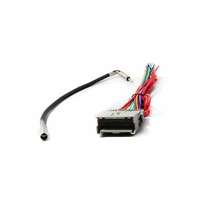 $11.69 • Buy Car Radio Stereo Wiring Harness W/ Antenna Cable Adapter For Chevy GMC Buick