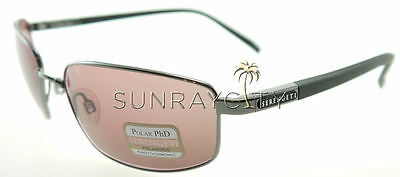 $179 • Buy Serengeti Agazzi Shiny Gunmetal Polarized Phd Sedona Sunglasses 7562