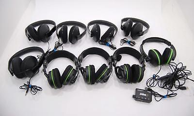 $49.99 • Buy Lot Of 9 Xbox ONE 360 Turtle Beach Over The Ear Gaming Headset X42 DXL1 PARTS
