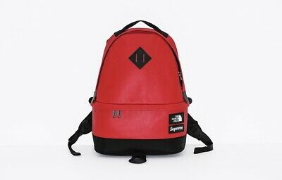 $ CDN483.96 • Buy Supreme/ The North Face Leather Daypack Backpack SS17