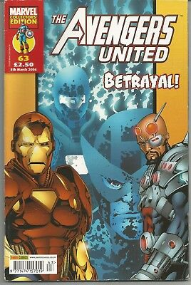 Avengers United #63 : March 2006 • 6.95£