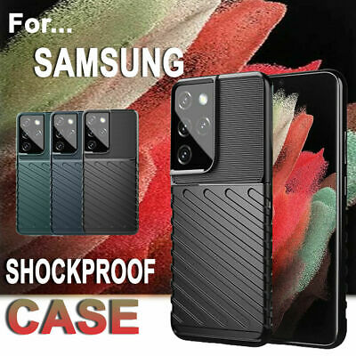 AU6.99 • Buy For Samsung Galaxy S21 S20 Ultra S10 Plus S10E Heavy Duty Case Shockproof Cover