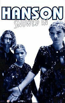 $ CDN13.18 • Buy Hanson The Group 1998 Pop Music Poster Snowed In 23X35  Isaac,Taylor,Zac New Org