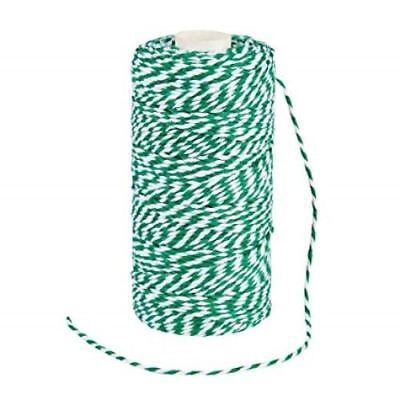 £2.09 • Buy 1mm  STRIPED BAKERS TWINE 5m/10m/100 Metres. Various Colours Available.