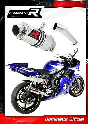 $187.95 • Buy YZF R6 Exhaust GP I Dominator Racing Silencer Muffler 2003 2004 2005