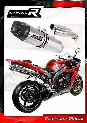 $631.72 • Buy YZF R1 1000 RN12 Exhaust HP1 Carbon Dominator Racing Silencer 2004 2005 2006