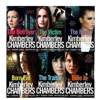 Kimberley Chambers 6 Books Collection Set Pack Paperback Victim Feud Traitor BE • 19.99£