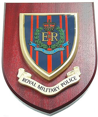 Rmp Royal Military Police Classic Hand Made In The Uk Regimental Wall Plaque • 19.99£