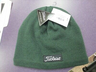 Titleist Golf Winter Lifestyle Trend Beanie Dark Green Stocking Cap • 24.99  ac55621b1c9