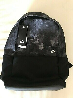113ae076cf Adidas Backpack Black Camo School University Sports Gym Bag Womens Mens  Laptop • 35.29