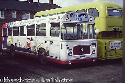 POTTERIES BRISTOL RE INFO BUS 6x4 Bus Photo • 0.99£