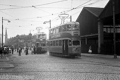 £0.99 • Buy Glasgow Corporation Tram 1360 Outside Coplawhill Works 1962 Tram Photo