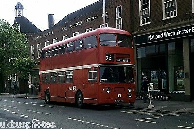 PMT Potteries Motor Traction No.2005 Newcastle-Under-Lyme 1977 Bus Photo • 0.99£