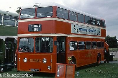 PMT Potteries Motor Traction 766EVT Brockwell Rally, London Bus Photo • 0.99£