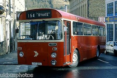 PMT Potteries Motor Traction Preserved TVT128G Halifax 1998 Bus Photo • 0.99£