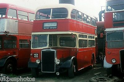 PMT Potteries Motor Traction No.453 Woolwich 1980 Bus Photo • 0.99£
