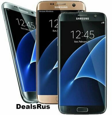 $ CDN180.37 • Buy Samsung Galaxy S7 Edge (T-Mobile AT&T Sprint Verizon) 32GB Smartphone