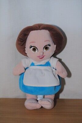 Disney Babies Beauty & The Beast 13 Inch Belle Soft Plush Toy Doll • 9.99£