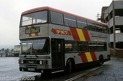 PMT Potteries Motor Traction No.759 Hanley 1990 Bus Photo • 0.99£