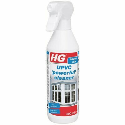 HG UPVC Cleaner 500ml Nicotine Dirt Remover PVC Synthetic Frames Windows Doors • 8.79£