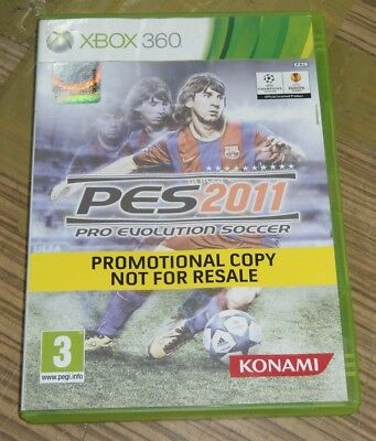 AU7.99 • Buy Xbox 360 Game - PES 2011: Pro Evolution Soccer