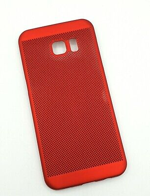 $ CDN4.49 • Buy Samsung Galaxy S7 Edge Handyhülle Schutzhülle Hard Cover Hard Case Rot Red