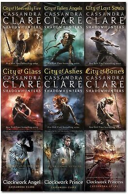 Mortal Instruments & Infernal Devices Cassandra Clare 9 Books Collection Set     • 24.99£