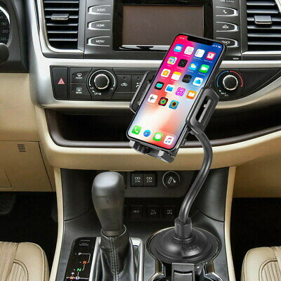 $11.99 • Buy Universal Car Cup Holder Mount Accessories 360° Adjustable For Mobile Phones GPS