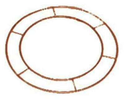 £2.95 • Buy Wreath Metal Frame Make Your Own 10  Flat Wire Ring Christmas Floristry Crafts