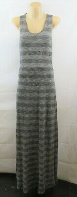AU9.95 • Buy Size S 10 Ladies Grey Maxi Dress Casual Boho Chic Peasant Beach Festival Design