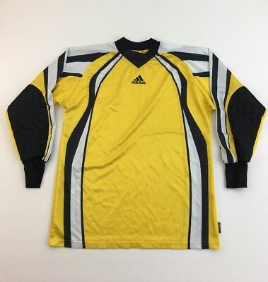 VTG Adidas Goalie Jersey GoalKeeper Shirt Soccer Football XL Padded • 17.50  99855dbb3