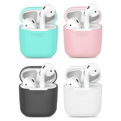 $ CDN1.34 • Buy AirPods Accessories Case Protective Silicone Cover Skin Strap For Apple Air Pod