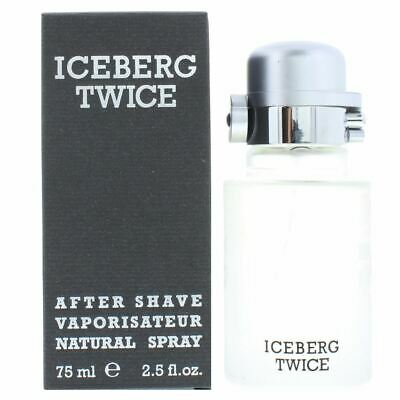 Iceberg Twice Homme After Shave Lotion 75ml Men • 12.64£