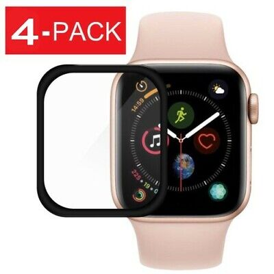$ CDN3.38 • Buy 1/2x For Apple Watch Series 4 40/44mm 3D Full Tempered Glass Screen Protector