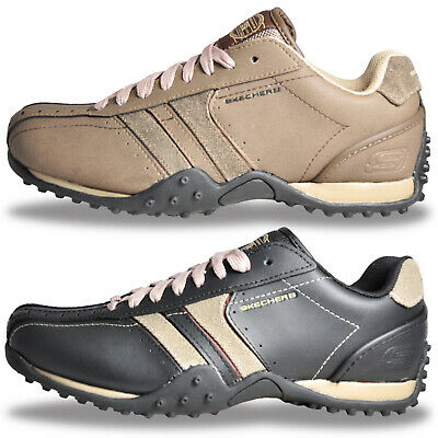 View Details Mens Skechers Urban Track Leather Casual Comfort Trainers Only £34.99 Free P&P • 34.99£