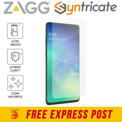 AU35.96 • Buy Samsung S10 (6.1-INCH) ZAGG Invisible Shield Ultra Clear Screen Protector