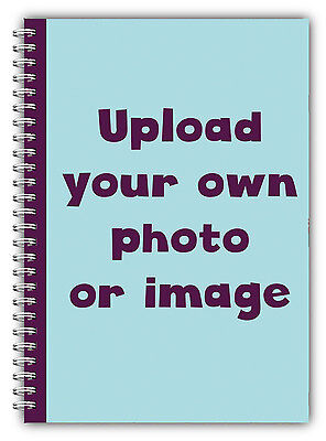 £10.25 • Buy A5 Personalised Planner/use Your Own Photo/ A5 Photo Diary 100 Page Book Gift