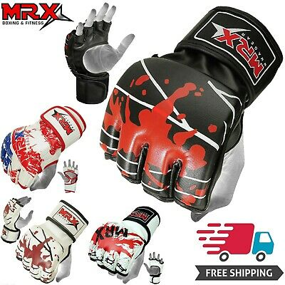 $ CDN26.71 • Buy Boxing MMA Gloves Grappling Punching Bag Training Kickboxing Fight Sparring UFC