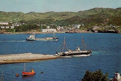 Old Postcard:  Kyle Of Lochalsh, Ross-shire. • 1£