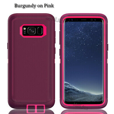 $ CDN14.41 • Buy Samsung Galaxy S8 / 8+ Defender Case With Screen Protector Fits Otter Box