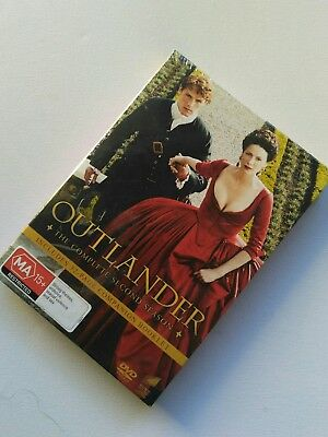 AU35.99 • Buy Outlander Season 2 Second Season NEW DVD & Companion Booklet,Scottish HIGHLANDER