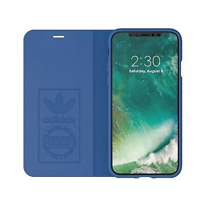 AU49.95 • Buy Adidas Originals Booklet Case Suits IPhone X/Xs 5.8 Blue / White NEW PACKAGED