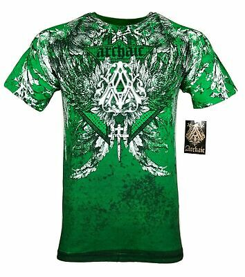 $21.95 • Buy ARCHAIC By AFFLICTION GRIFFIN Men's T-Shirt