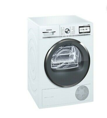 View Details Siemens WT4HY791GB 9kg IQ-700 Heat Pump Condenser Tumble Dryer – WHITE • 650.00£